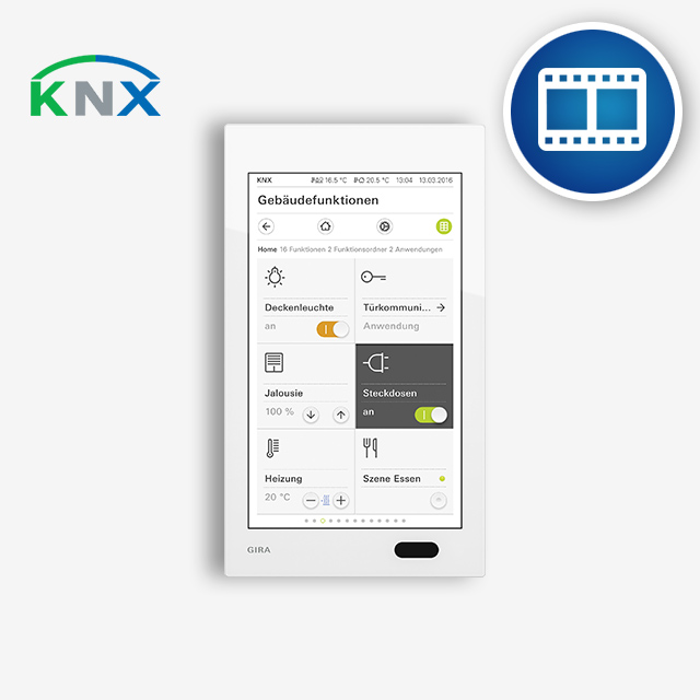 Training videos for the Gira G1 KNX configuration