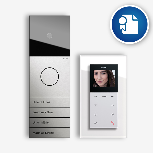 Gira Door Communication Basics